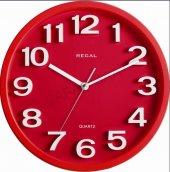 Regal 916 Rwz Kabartma Rakamlı Orta Boy Duvar Saati