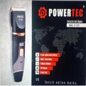 Powertec Tr 3200 Profesyonel Tıraş Makinesi Şarjlı Yedek Bataryal