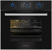 Ferre 10004 (Be10 Ld) Siyah Dokunmatik Dijital Ankastre Fırın