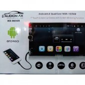 Audiomax Androidli Mirrorlink Navigasyon Bluetootlu Double Teyp