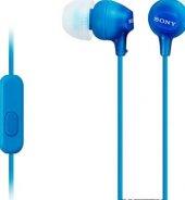 Sony Mdrex15aplı.ce7 Klakiçi Mikrofonlu Kulaklık Mavi