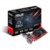 Asus Radeon R7 240 Oc Edition 4gb Ddr3 Low Profile 128bıt D Sub D