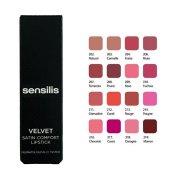Sensilis Velvet Satin Comfort Lipstick Yoğun Nemlendirici Ruj 210