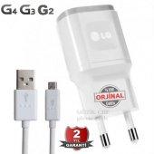 Orijinal Lg G2 G3 G4 Şarj Aleti + Usb Data Kablo 1.8 Amper