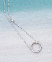 Frilly Gümüş Zirkon Kolye (Fkk194107)