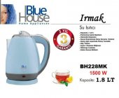 Blue House Bh228mk Irmak Kettle Su Isıtıcı 1500watt Mavi