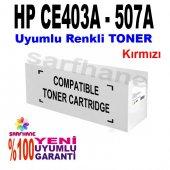 Hp M570 M575 M551 Uyumlu Kırmızı Toner Ce403a 507a