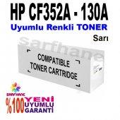 Hp Pro M176 M177 Sarı Muadil Toner Cf352a 130a