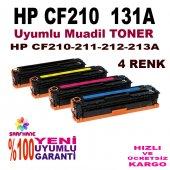 Hp Cf210a Cf213a 4 Renk Toner Pro M276 M251 Hp131a