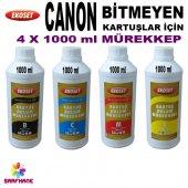 Canon Bitmeyen Kartuş Mürekkebi 4 Renk 4x1litre