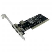 M Tech Mtbk0006 Ieee 1394 Firewire 400 Pcı Kart, 3 Harici + 1 Dahili Port, 4 Ve 6 Pin