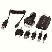 Logilink Pa0036a Universal Power Adaptör Seti, 12+230 Volt