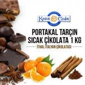 Koza Portakal Ve Tarçın Aromalı Kakaolu Sıcak Çiko...
