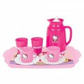 Hello Kitty Kız Çay Seti Kız Çocuğu Oyun Setleri
