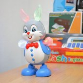 Müzikli Dans Eden Oyuncak Tavşan Robot Büyük Boy 24cm