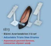1813 İcemen Şeffaf Eğimi Ayarlanabilen 3&#039 Lü Set