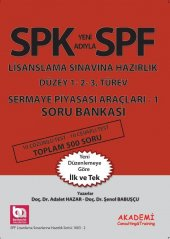 Akademi Spk Spf Lisanslama Sermaye Piyasası Araçları 1 Soru Bankası Akademi Consulting Yayınları