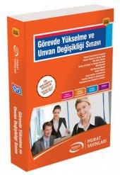 Murat Görevde Yükselme Ve Unvan Değişikliği Sınavı Hazırlık Kitabı Murat Yayınları