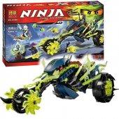 Be La Ninja Lego Seti 10395 Üç Tekerli Dev Yeşil Motor