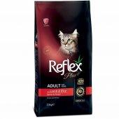 Reflex Plus Kuzu Etli Yetişkin Kedi Maması 15 Kg Pounch Hediyeli