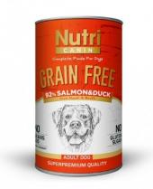 Nutri Canine Tahılsız Somonlu Ördekli Köpek Konservesi 400 Gr