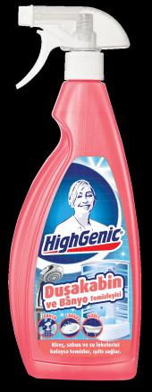 Highgenic Duşakabin Ve Banyo Temizleyici 750 Ml Hg3053