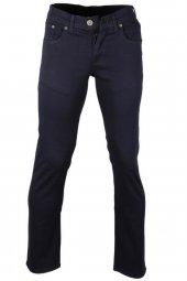 Erkek Keten Kot Pantolon Slim Fit Lacivert Rar00170
