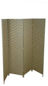 Ikizler Hasır Örme Paravan Çift Taraflı Dört Kanatlı 200 Cm Genişlik 16871