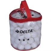 Delta 100 Adet Çantalı Masa Tenisi Pinpon Topu Pn341