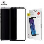 Baseus 3d Arc Samsung Galaxy Note 8 Cam Ekran Koruyucu Tam Kaplay