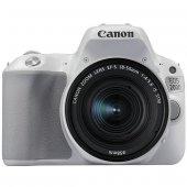 Canon Eos 200d Ef S 18 55mm Is Stm Dslr Fotoğraf Makinesi Gümüş
