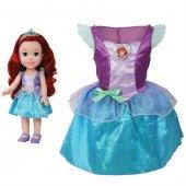 Disney Prenses Ariel Kostümlü Ve Bebek Seti 2 4 Yaş