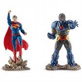 Schleich Superman Vs Darkseid Scnery Pack Figür Seti
