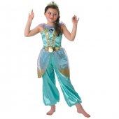 Prenses Jasmine Çocuk Kostüm 3 4 Yaş Glitter