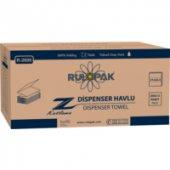 Rulopak Z Katlı Dispenser Havlu 200'lü