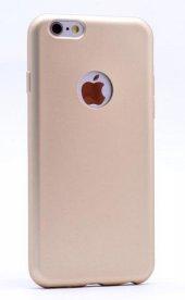 Iphone 7 Plus Kılıf Gold Pastel Mat Silikon