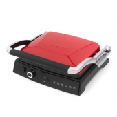 King K 462 Grillmaster Kırmızı Granit Tost Makinası