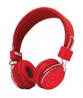 Trust 21823 Ziva Mikrofonlu Kulaklık Kırmızı
