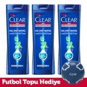 Clear Men Cool Sport Menthol Şampuan 3 X 550 Ml