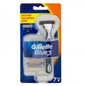 Gillette Blue 3 Tıraş Makinesi + 7 Yedek