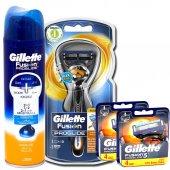 Gillette Fusion Proglide Flexball 1up Makine+8 Yedek+jel.