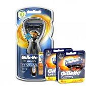 Gillette Fusion Proglide Flexball 1up Tıraş Makinesi + 8 Yedek