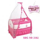 Happy Baby Class Ninni Beşik (Pembe)