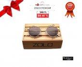 Zolo Eyewear Salinas Round 50.22 Gold Füme Güneş Gözlüğü
