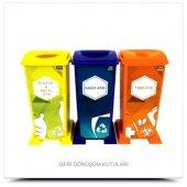 Geri Dönüşüm Kutusu Seti Plastik