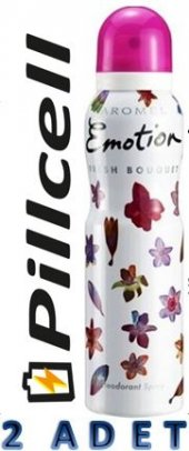 Emotion Deorant Women Fresh Bouquet 150 Ml * 2 Adet