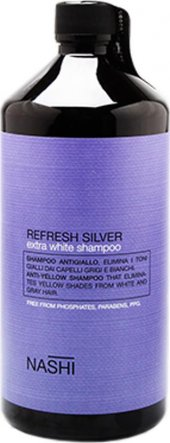 Nashi Refresh Silver Şampuan 1000 Ml
