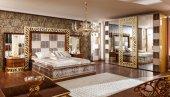 Leopar Klasik Yatak Odası