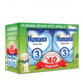 Humana Devam Sütü 3 800 Gr 2 Li Kampanya Paketi