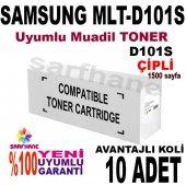 Samsung Mlt D101s Çipli Muadil Toner 10adet
